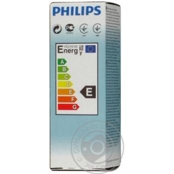 Лампа Philips B35 свічка прозора 60w Е14 CL - купить, цены на Novus - фото 6
