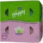 Платочки бумажные Bella Baby Happy универсальные двухслойные 80шт