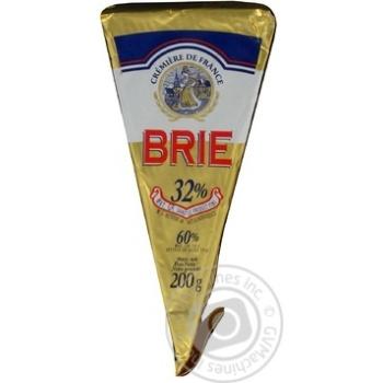 Сыр Кремьере де Франс Бри 60% 200г Франция
