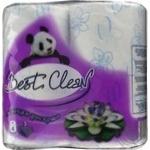 Папір туалетний Вest Clean М'яка розкіш 4рул