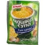 Суп Кнор з сиром 25г Росія