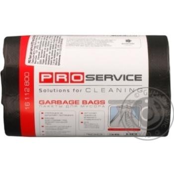 Пакеты для мусора ProService черные 35л 100шт - купить, цены на Метро - фото 2