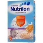 Каша детская Нутрилон овсяная молочная с 5 месяцев 225г Португалия