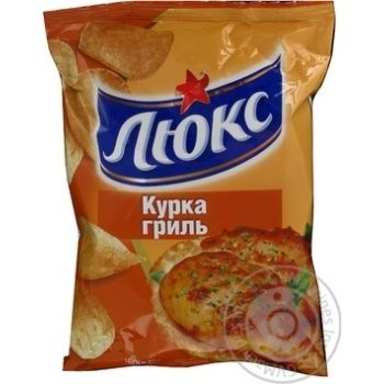 Чипсы Люкс курица гриль 140г Украина