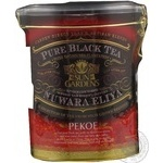 Black pekoe tea Sun Gardens Pekoe 150g can Ukraine