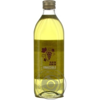 Oil Casa rinaldi with grape seed 1000ml glass bottle