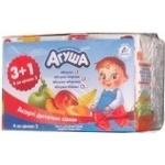 Сок Агуша яблоко осветленный 200мл тетрапакет