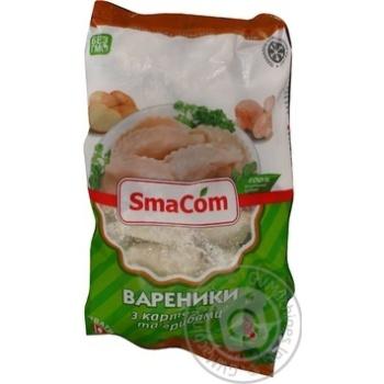 Вареники SmaCom с картошкой и грибами 900г