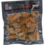 Seafood mussles Kaluri frozen 450g vacuum packing Ukraine