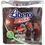 Diaper Libero Up and go for children 10-14kg 16pcs 480g