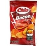 Potato chips Chio Chips with bacon taste 75g Poland