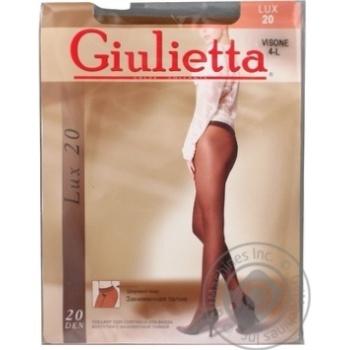 Колготи Giulietta занижена талія lux 20 visone 4