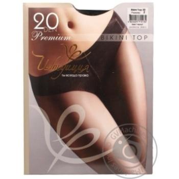 Колготи жіночі Інтуіція Bikini Top 20 Premium 2 Black