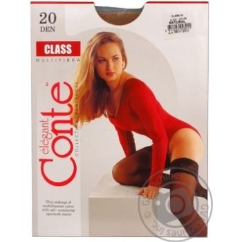 Чулки Conte Class Natural 20den размер 3-4 - купить, цены на Novus - фото 6