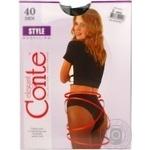 Колготы Conte Style 40 р.3 nero шт