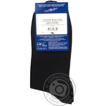 Шкарпетки чоловічі Diwari Classic Cool Effect р.27 000 бежевий 7C-23СП - купити, ціни на Фуршет - фото 4