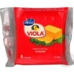 Сыр Валио Виола Чеддар плавленый ломтики 45% 150г Финляндия