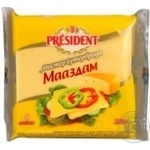 Сыр Президент Маасдам плавленый 40% 150 г Россия