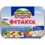 Сыр Хохланд Фетакса плавленный 60% 400г