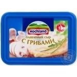 Cheese Hochland mushroom processed 55% 400g Russia
