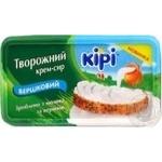 Творожный крем-сыр Кири Сливочный 63% 200г ванночка Польша