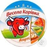Сыр Вэсэла коривка Ассорти плавленый 8 порций 40%-45% 140г Словакия