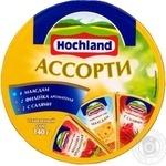 Сыр Хохланд Ассорти плавленый 55% 140г Россия