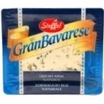 Сир Штеффел Гран Баварезе з блакитною пліснявою 50% 100г