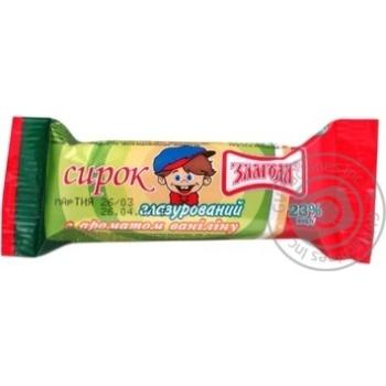 Сирок Злагода глазурований з ароматом ваніліну 23% 36г Україна