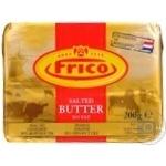 Масло вершкове натуральне солоне Frico 81% 200г