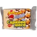 Сиркова маса Любимчик солодка молоковмісна з наповнювачем молокомісткий згущеним вареним 23% 200г Україна
