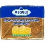 Масло Меггле альпийское сливочное 82% 200г Германия