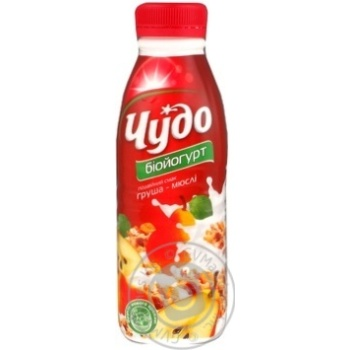 Chudo Pear-Muesli Bio Yogurt