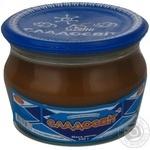 Сгущенное молоко Сладосвит 8% 240г стеклянная банка Украина