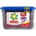 Гель для стирки Ariel в капсулах Цвет и стиль автомат 35г х 23шт