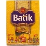 Black pekoe tea Batik Delicate OPA big leaf 100g Ukraine