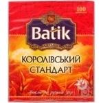 Чай Батик Королевский стандарт черный 2г х 100шт