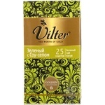 Green pekoe tea Vilter with Soursop Chinese 25x1.5g teabags