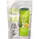 Green tea Tian Shan with lemon and lime 80g Ukraine
