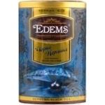 Черный чай Эдемс Черная Жемчужина крупнолистовой 200г железная банка Шри-Ланка