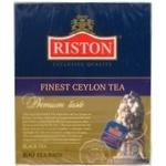 Черный чай Ристон Файнест байховый 100х1.5г Шри-Ланка