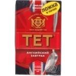 Black pekoe tea TET England Breakfast 100g Ukraine