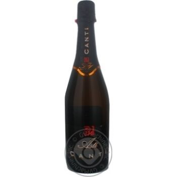 Вино Canti Asti игристое белое 7%об. 750мл