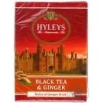 Черный чай Хэйлис цейлонский байховый среднелистовой с имбирем 100г