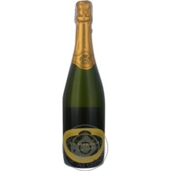 Вино игристое Мелло белое брют 12.5% 750мл