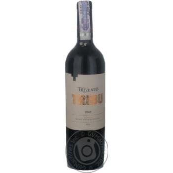 Вино Тривенто красное сухое 14% 750мл стеклянная бутылка Аргентина