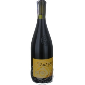 Tarapaca Natura + Red Dry Wine 14.5% 0.75l - buy, prices for CityMarket - photo 3