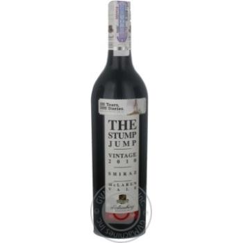 Вино d'Arenberg Stump Jump Shiraz 2008 червоне сухе 12,5% 0,75л - купити, ціни на МегаМаркет - фото 1