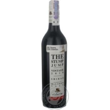 Вино d'Arenberg Stump Jump Shiraz 2008 червоне сухе 12,5% 0,75л - купити, ціни на МегаМаркет - фото 2