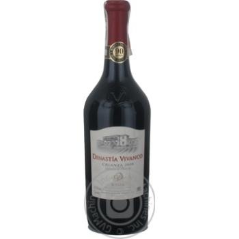 Вино Dinastia Vivanco Rioja Crianza красное сухое 13.5% 0,75л